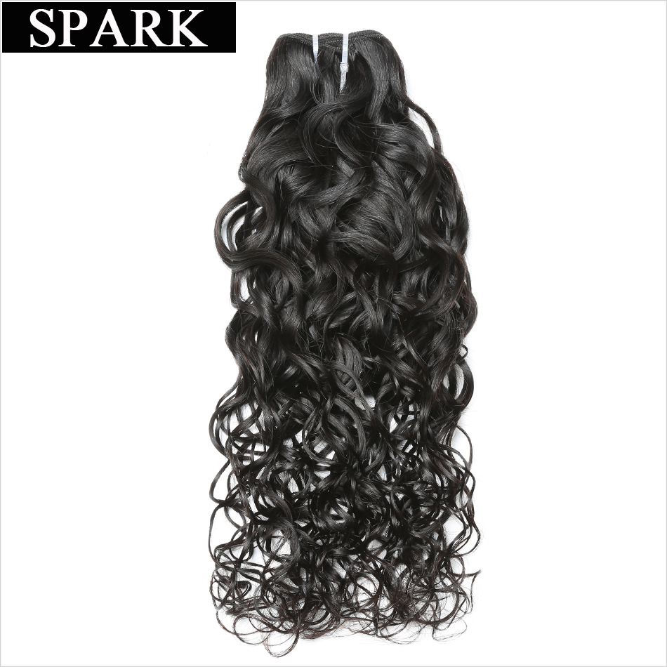 Indian Virgin font b Hair b font Water Wave 100 Unprocessed font b Human b font