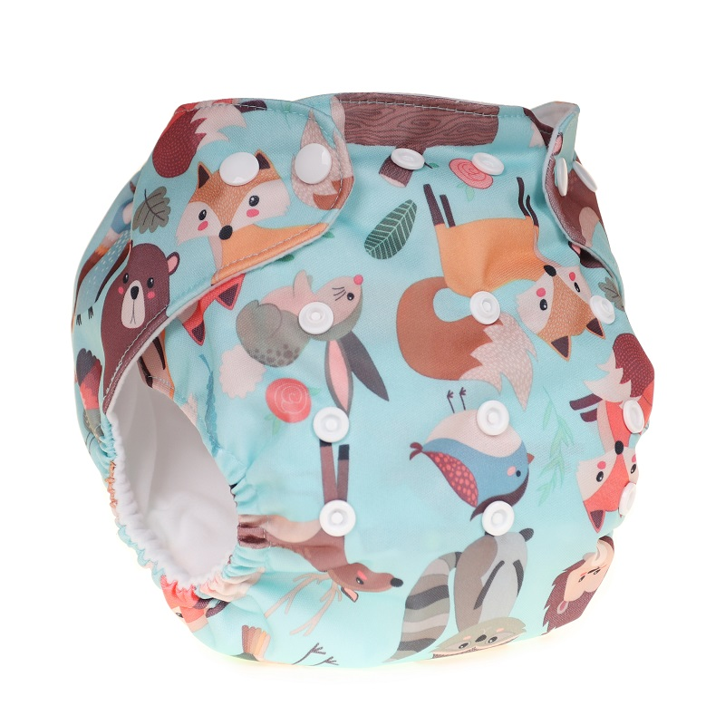 Ajustable Nappies Washable Cloth Nappy Baby Diaper Baby Pocket Nappy Cloth Reusable Diaper Diapers Winter Cover Wrap
