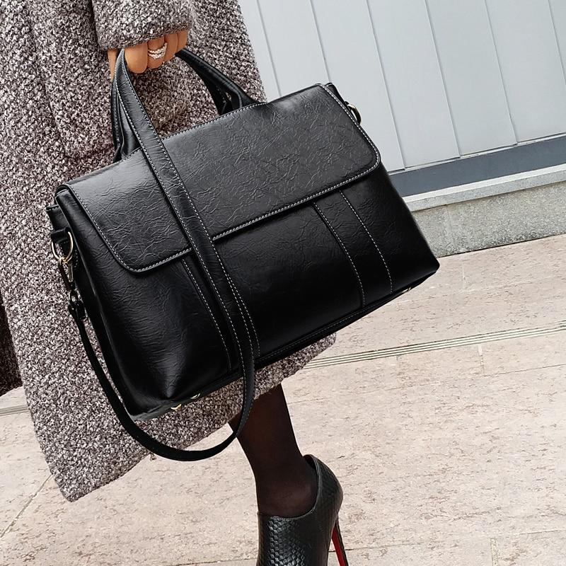 Sacs En Rétro Bandoulière Black À Femmes Messenger Mujer Deportivo Tas Designer Bolso Cuir Les Sac Noir De Main Fourre Femme Luxe Nouveau tout Pour 5PBzwz
