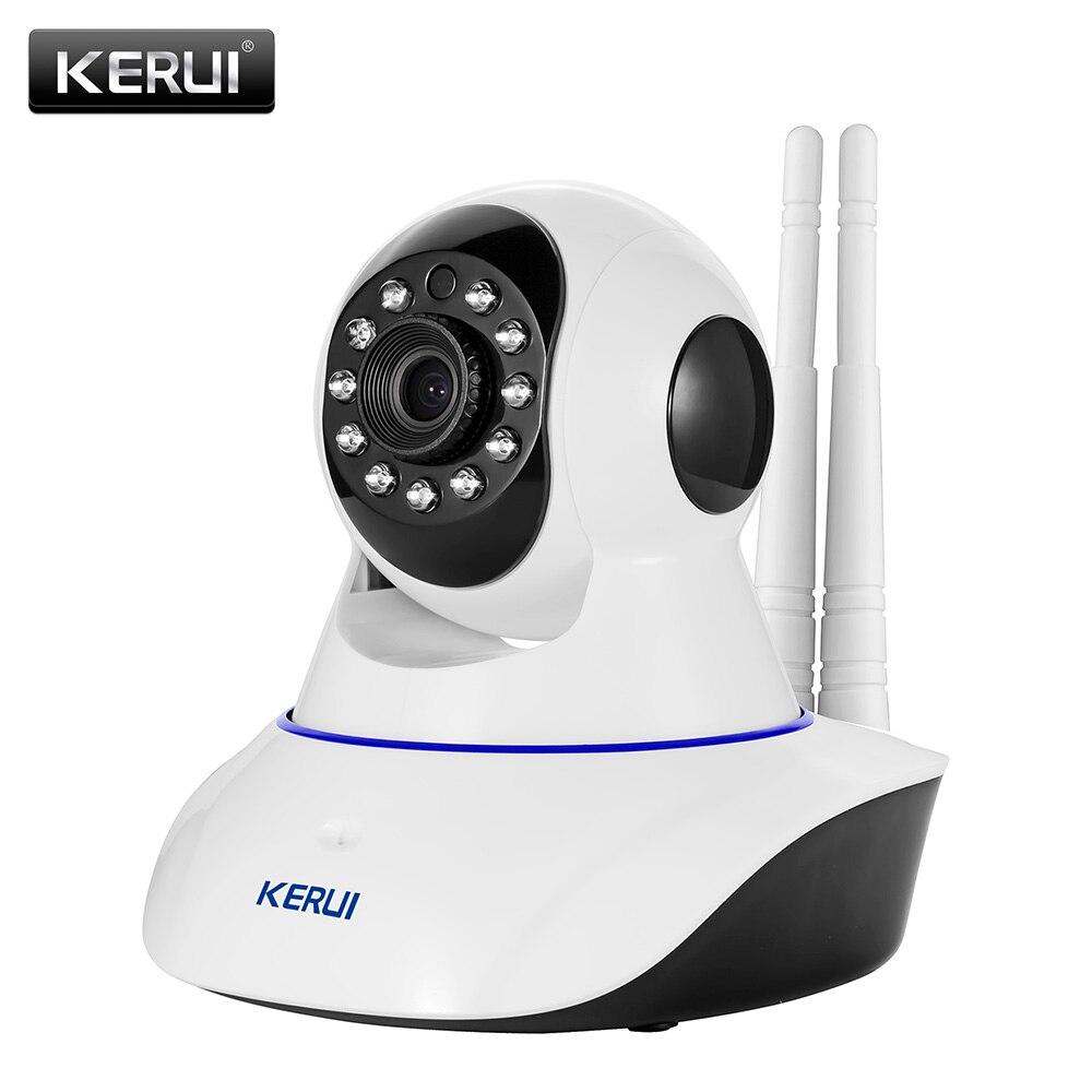 KERUI Беспроводной сети Камера 720 P HD WiFi IP Камера веб-безопасности дома Камера наблюдения PnP P2P приложение телеметрией ИК-