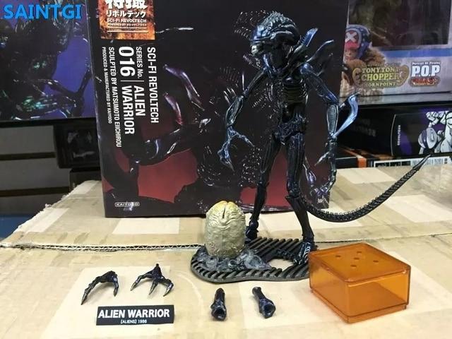 SAINTGI Alien: Bund Alien vs. Predator Alien Krieger Animierte PVC ...
