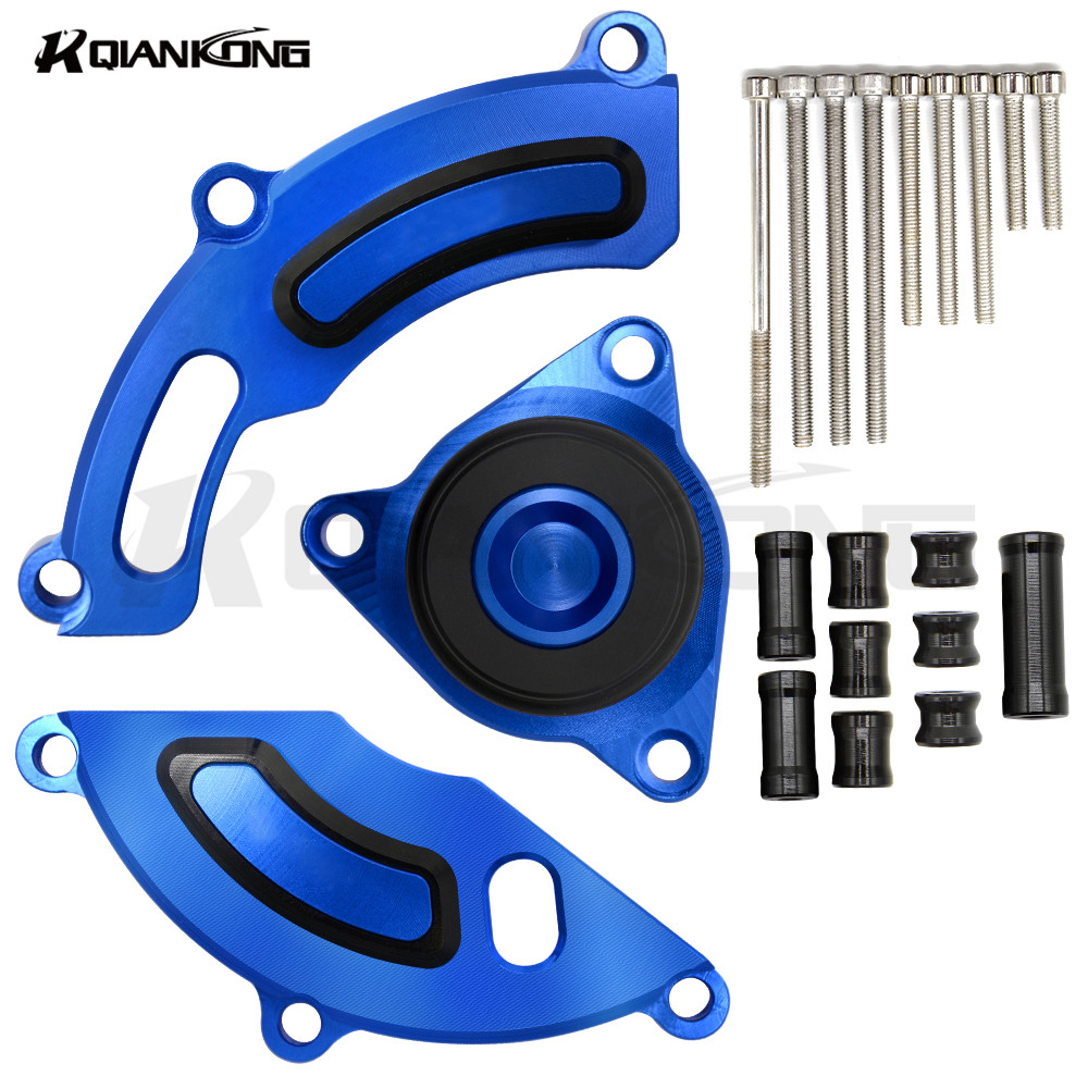 CNC Aluminum motorcycle engine cover motorcycle ENGINE GUARD Crankcase For YAMAHA TFS150/LC150 R150