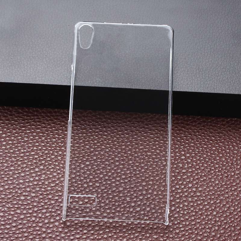For Huawei P6 Ultra Thin Transparent Dirt-Resistant Plastic Crystal Clear Hard Back Cover Case For Huawei Ascend P6