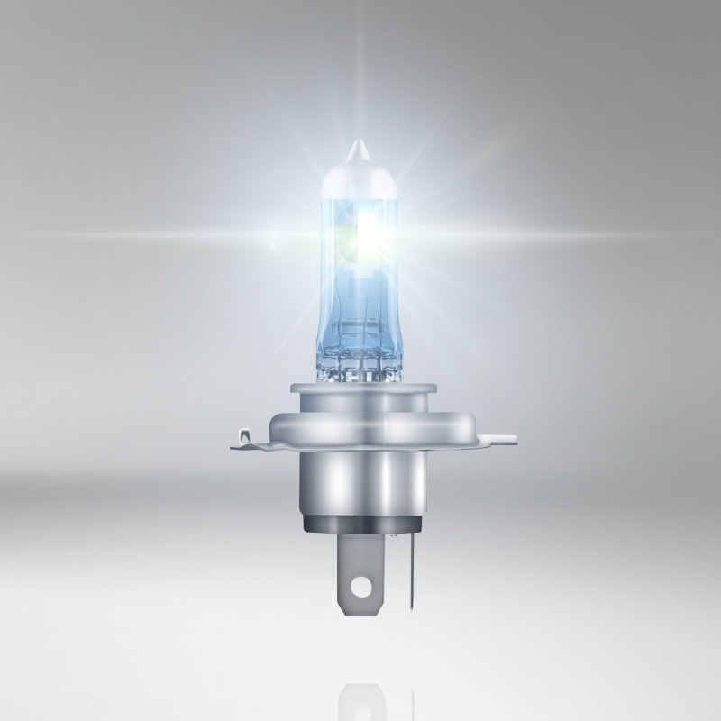 オスラム H1 H3 H4 H7 H8 H11 9005 9006 12V ナイトブレーカーレーザー次世代車のハロゲンヘッドライトランプ + 150% 輝度、 2X