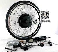 48 В 72 В 3000 Вт E Bike Kit 90 км/ч Максимальная скорость с 7 Скорость свободного хода