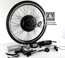 48 В-72 В 3000 Вт E-Bike Kit 90 км/ч Максимальная скорость с 7 Скорость свободного хода