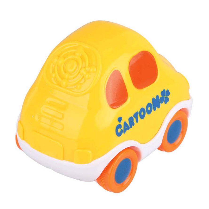 Mini Baby Kids Cartoon Cute Forward Movement Engineering Car Educational Toys Y0423
