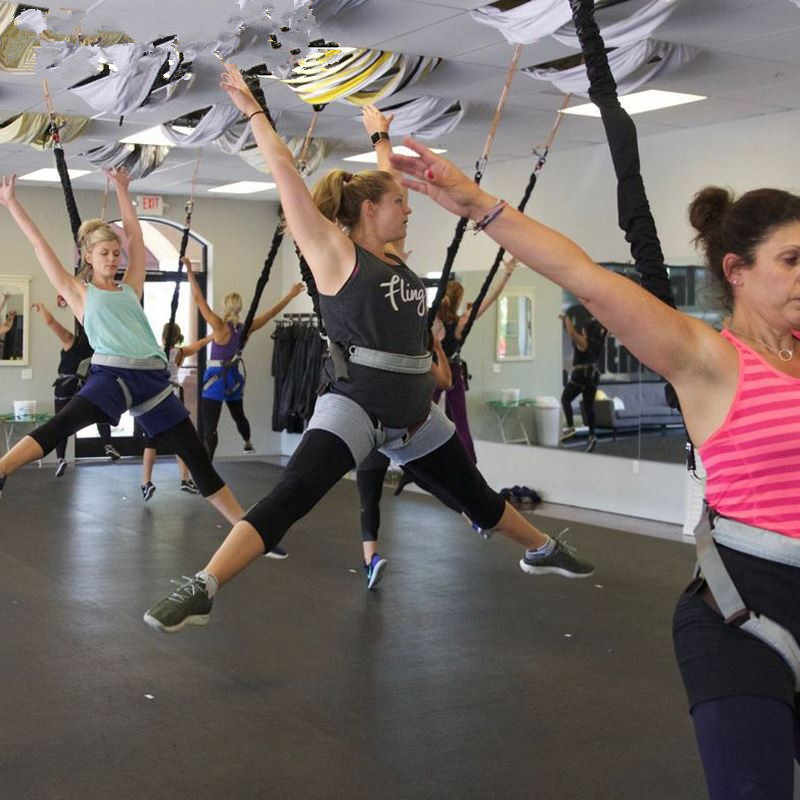 YANODA Bungee-Tanz Fliegen H/ängeseil Luft Anti-Schwerkraft-Yoga Cord Resistance Band Set Workout Fitness Haus Fitnessger/äte Workout Color : 110kg Basic