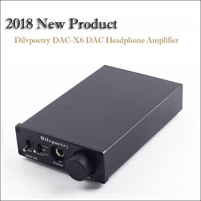 Digital-analog-wandler Geschickt Dilvpoetry Dac-x6 Hause Dac Verstärker Audio Decoder Tragbare Usb Dac Audio Verstärker Kopfhörer Amp Optische Hifi Verstärker Belebende Durchblutung Und Schmerzen Stoppen