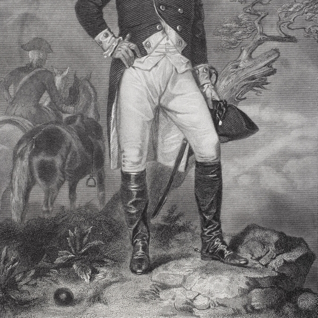 John Stark 1728-1822. American General In The American Revolution. From Painting By Alonzo Chappel Print (24 x 34)