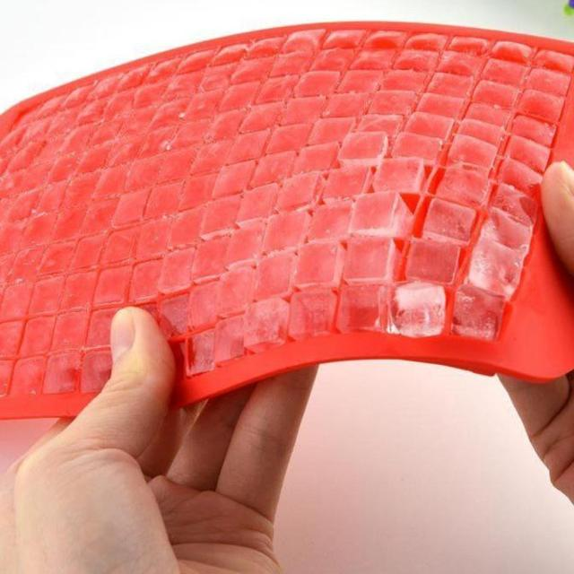 160 Grids Mini Square Shaped Ice Cubes Tray