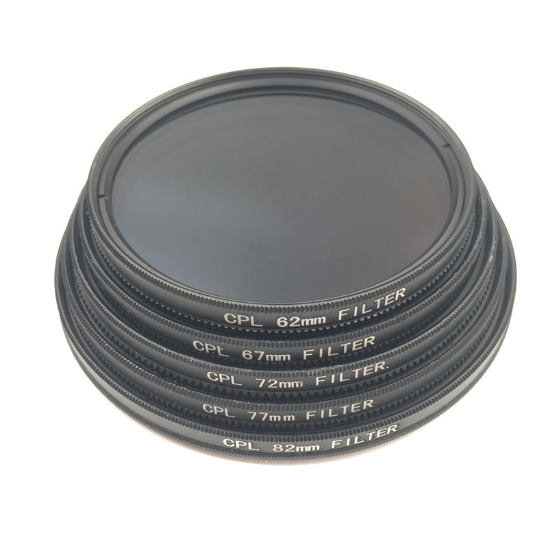 Image 4 - CPL Circular Polarizer Camera filter for Canon Nikon DSLR Camera lens 52mm/55/58/62/67/72/77/82mm-in Camera Filters from Consumer Electronics
