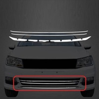 Window Grille Trunk Automobile Upgraded Decorative Auto Car Styling Accessory Covers Protecter 16 17 18 FOR Volkswagen Santana
