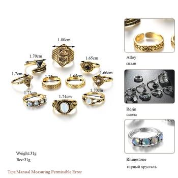 Vintage Knuckle Ring Set 1