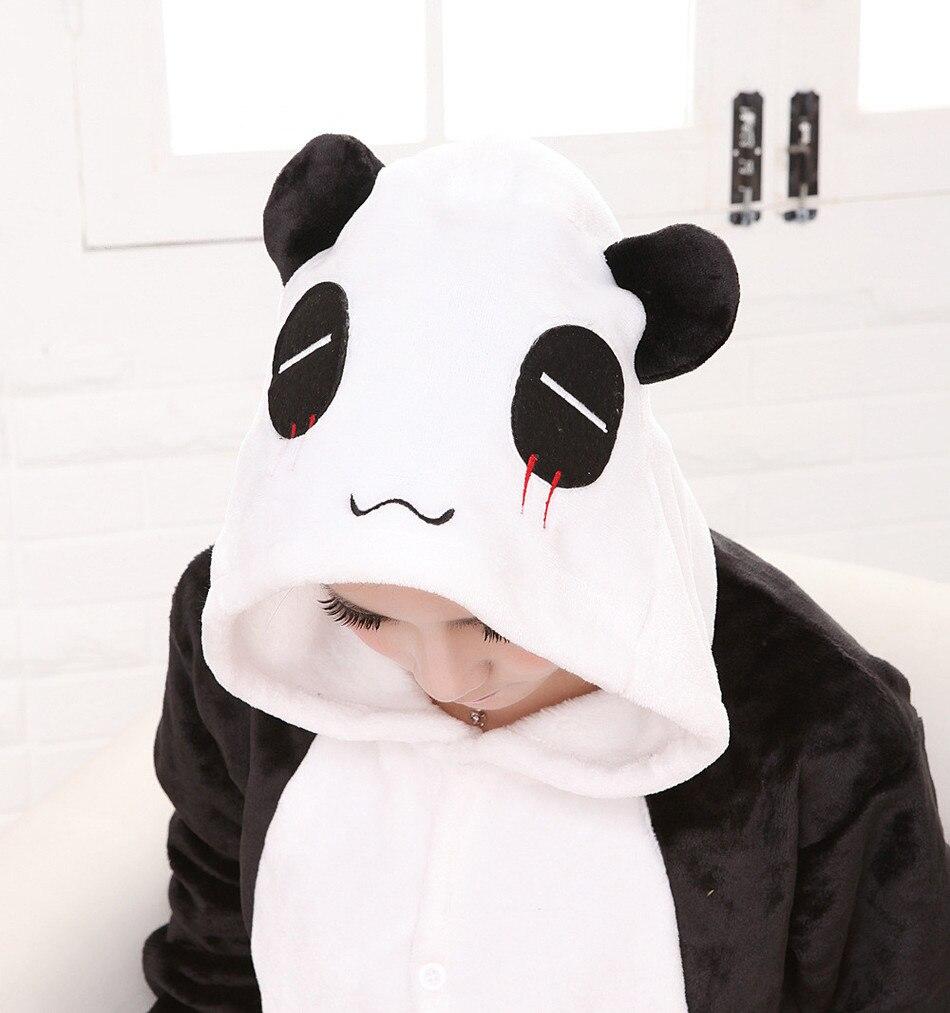 Vuxen Onesies Panda Pyjamas Sängkläder Sängkläder Anime Cosplay Kostym Unisex Tecknad Pajamas Anime Cosplay Kostym