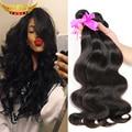 7A Unprocessed Peruvian Virgin Hair Body Wave 3Bundles Crown Hair Products Peruvian Body Wave Human Hair Weave Peruvian Hair