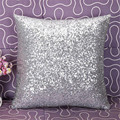 Cls  1PC Car Auto  Solid Color Glitter Sequins Throw Pillow Case Cafe Home Decor Cushion Covers  Car Covers SZ0216*20