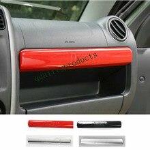 1 ШТ. ABS Chrome Отсек Коробка Для Хранения Украшения Ecorative Литье Наклейки Интерьер Аксессуары для Suzuki Jimny(China (Mainland))