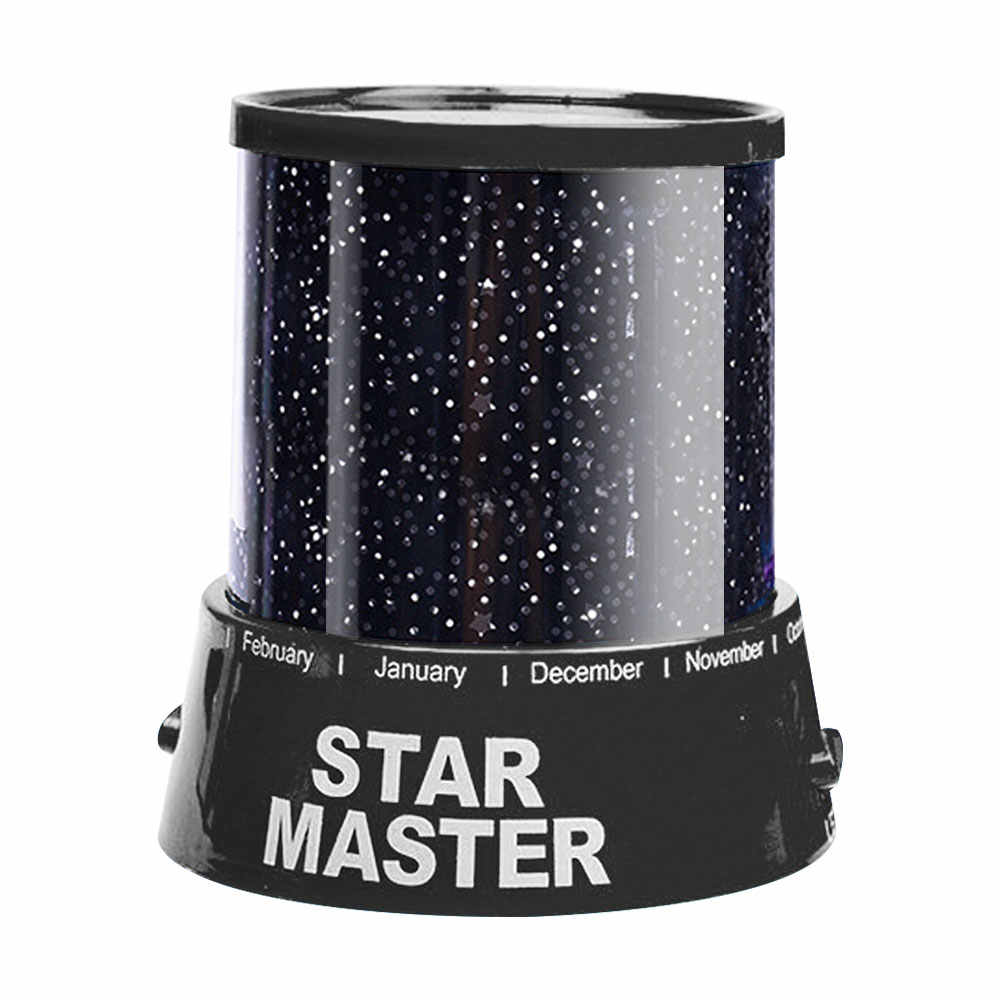 LED Light Night Starry Sky Magic Star Moon Planet Space Projector โคมไฟจักรวาลโคมไฟตกแต่งสำหรับคนรักเพื่อนเด็ก Xmas ของขวัญ
