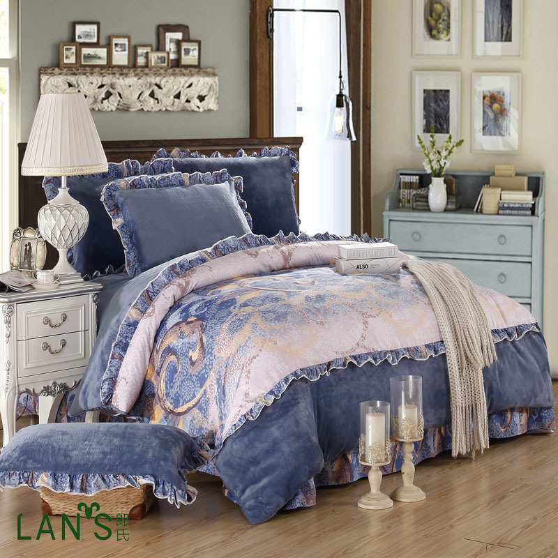 Popular royal blue bedding buy cheap royal blue bedding for How to buy soft sheets