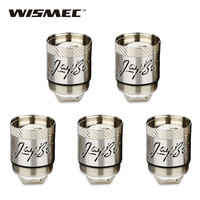 Original 5pcs WISMEC Reux Atomizer Head 0 15ohm RX Triple 0 5ohm RX Ceramic Coils Atomizer