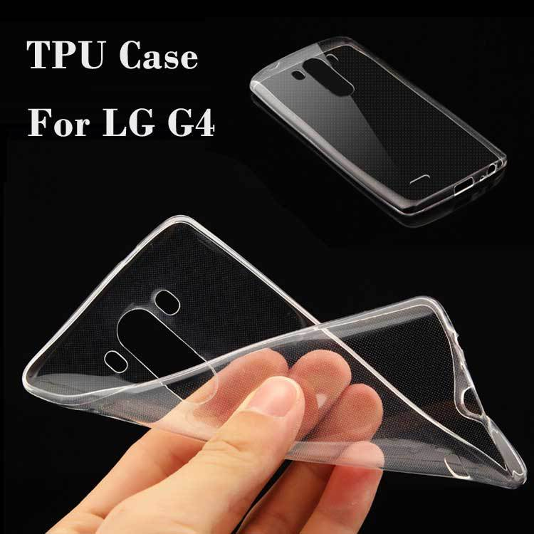 Ultra Thin Slim 0.3mm Clear Transparent Soft TPU sFor LG G4 Case For LG G4 H810 VS999 F500 Cell Phone Back Cover Case