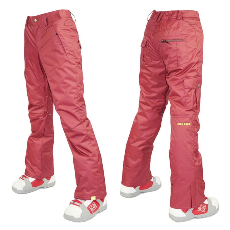 Pantallona të skive dëbore Gsou pantallona të grave për dëborë - Veshje sportive dhe aksesorë sportive - Foto 5