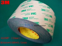 1x 80mm*55M*0.13mm 3M 468MP 200MP Strong Adhesion, Double Sided Sticky Tape for Metal, Paints, Screen, LCD, Panel Joint