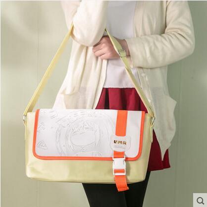 Top Himouto! Umaru-chan Anime Cartoo impression japonaise Doma Umaru sacs à main PU et toile collège cartables sacs à bandoulière