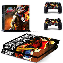 New One Piece For Play 4 PS4 Skin 1 Set Skins For Playstation 4 Sticker Decal Cover + 2 Controller Sticker For PS4 Accessories