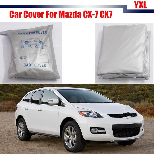Car Cover Rain Sun Snow Resistant Protection UV Anti Cover Dustproof For Mazda CX-7 CX7