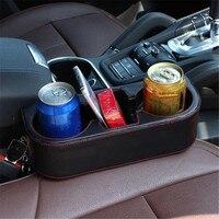 Black 2 Cup Holder Drink Beverage Seat Wedge Car Auto Truck Universal Mount Ja12