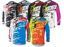 Cycling eguipment moto long jerseys Mountain Bike MX Cycling Clothes Summer Downhill Bike Jersey Long Sleeve Bicycle Wear Witho