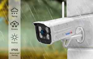 Image 4 - Besder 5MP 720P Audio Onvif Draadloze Alarm Push P2P Wifi Camera Kogel Outdoor Ip Camera Met Sd Card Slot max 128Gb Icsee App