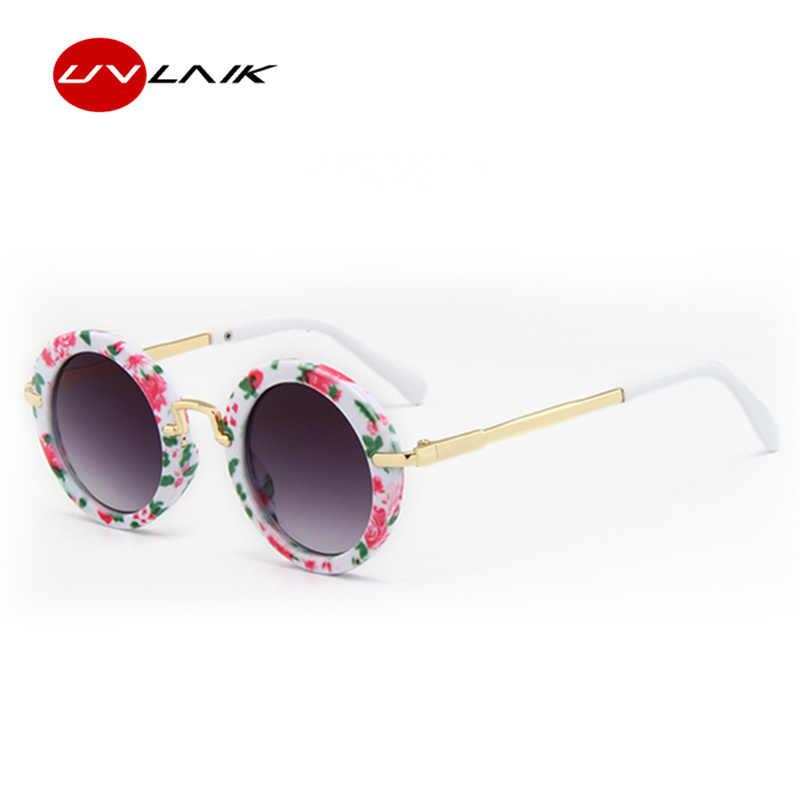 0afd6dffc12d9 ... UVLAIK 2018 Kids Sunglasses Boys Brand Children Round Sun Glasses For Girls  Baby Goggles UV400 Eyewear ...
