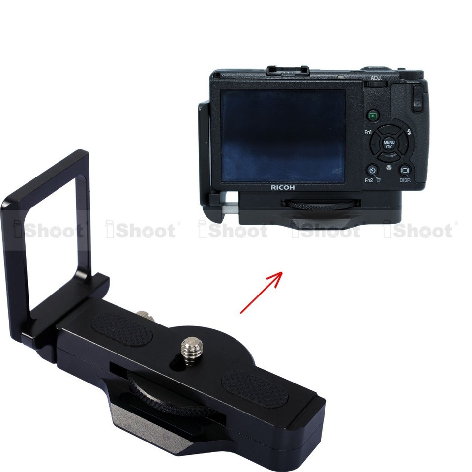 Pro Video Stabilizing Handle Grip for Ricoh Caplio RR530 Vertical Shoe Mount Stabilizer Handle