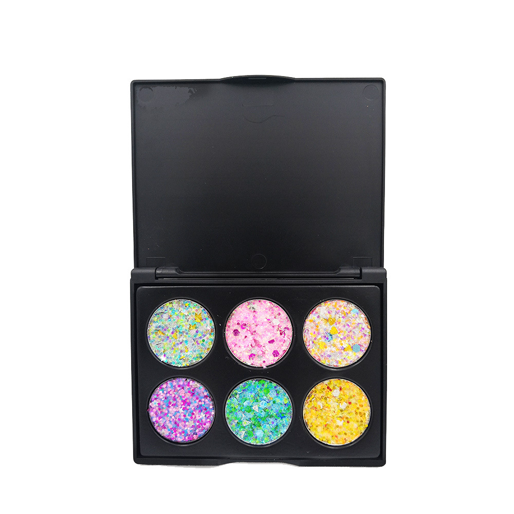 Beauty & Health 6 Color Glitter Makeup Eyeshadow Palette Children Stage Festival Party Makeup Shimmer Sequins Glitter Eye Shadow Palette Tslm1 Beauty Essentials