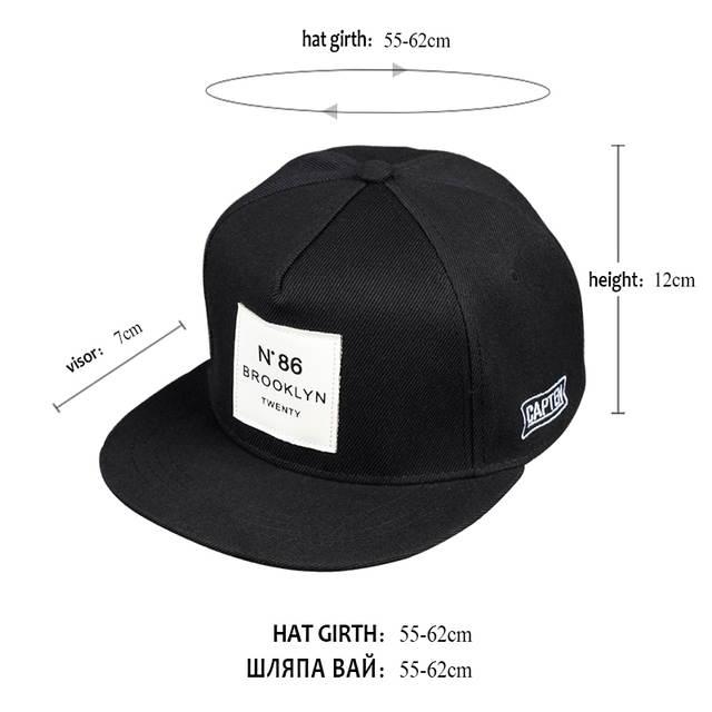 424ddf6c1 2018 New Men Womens BROOKLYN Letters Solid Color Patch Baseball Cap Hip Hop  Caps Leather Sun Hat Snapback Hats