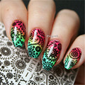 2 Patterns/Sheet BORN PRETTY Circle Arabesque Nail Art Water Decals Transfer Sticker BPY14