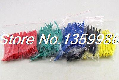 (400) 2mm(ID) length 10cm Blue Insulation Heat Shrink Tubing Wire Cable Wrap