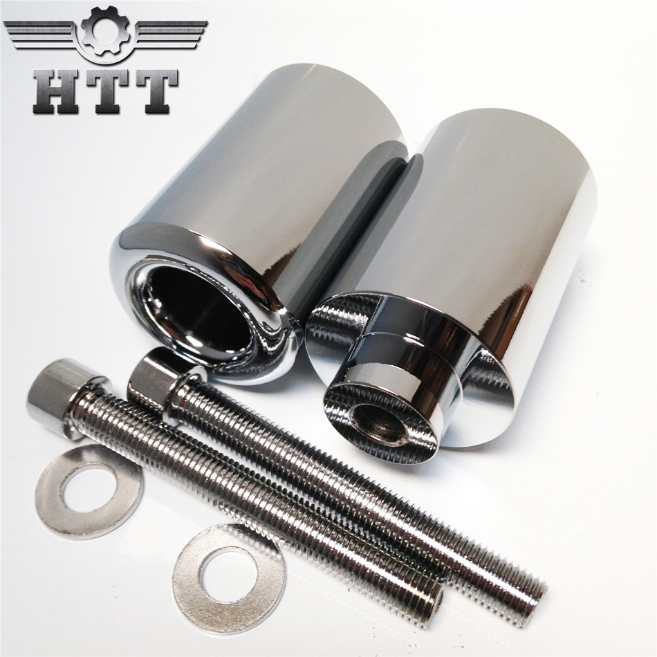 Aftermarket free shipping motorcycle parts No Cut Frame Slider For Hond 2000-2001 CBR 929RR 2002-2003 CBR954RR RR Chrome