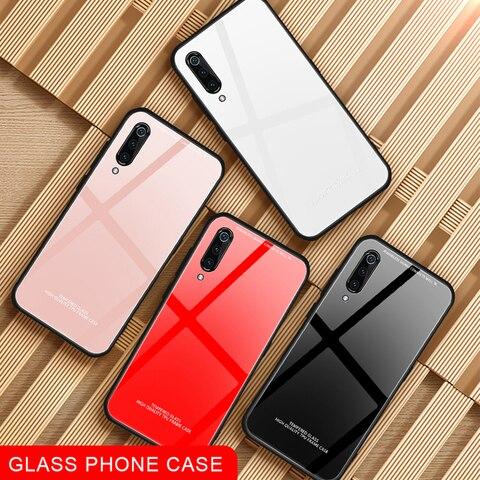 Tempered Glass Phone Case For Xiaomi Mi 8 Lite Mi6 Mi A1 A2 Lite 5X 6X Mix2S Max3 Pocophone F1 Back Shell For Redmi 6 Pro Cover Lahore