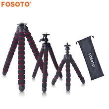 fosoto Octopus Tripods Stand Spider Flexible Mobile Mini Tripod Gorillapod For iPhone GoPro Canon Nikon Sony