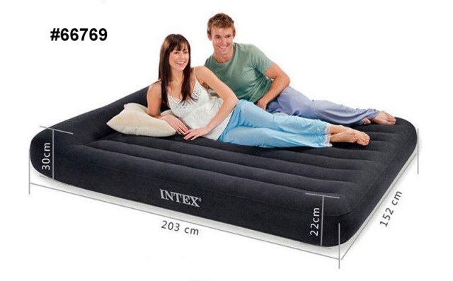 High Quality Intex Inflatable Air Bed Airbed With Pillow Air