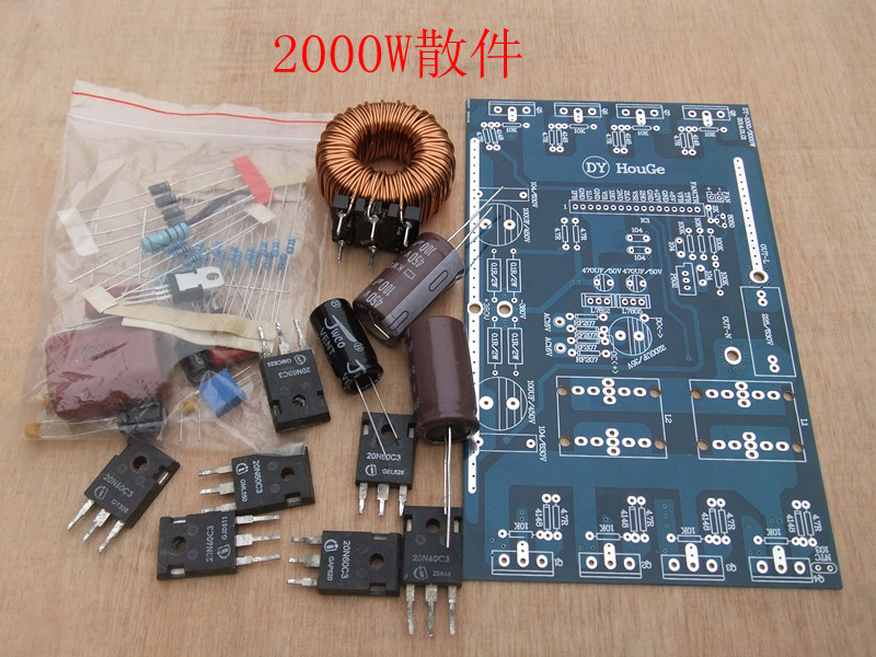 цена на After the pure sine wave inverter board DIY kit  2000W