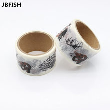 JBFISH Washi Tapes DIY Instrument Wall Paper Masking Tape Decorative Adhesive Tapes Scrapbooking Stickers 9017 все цены