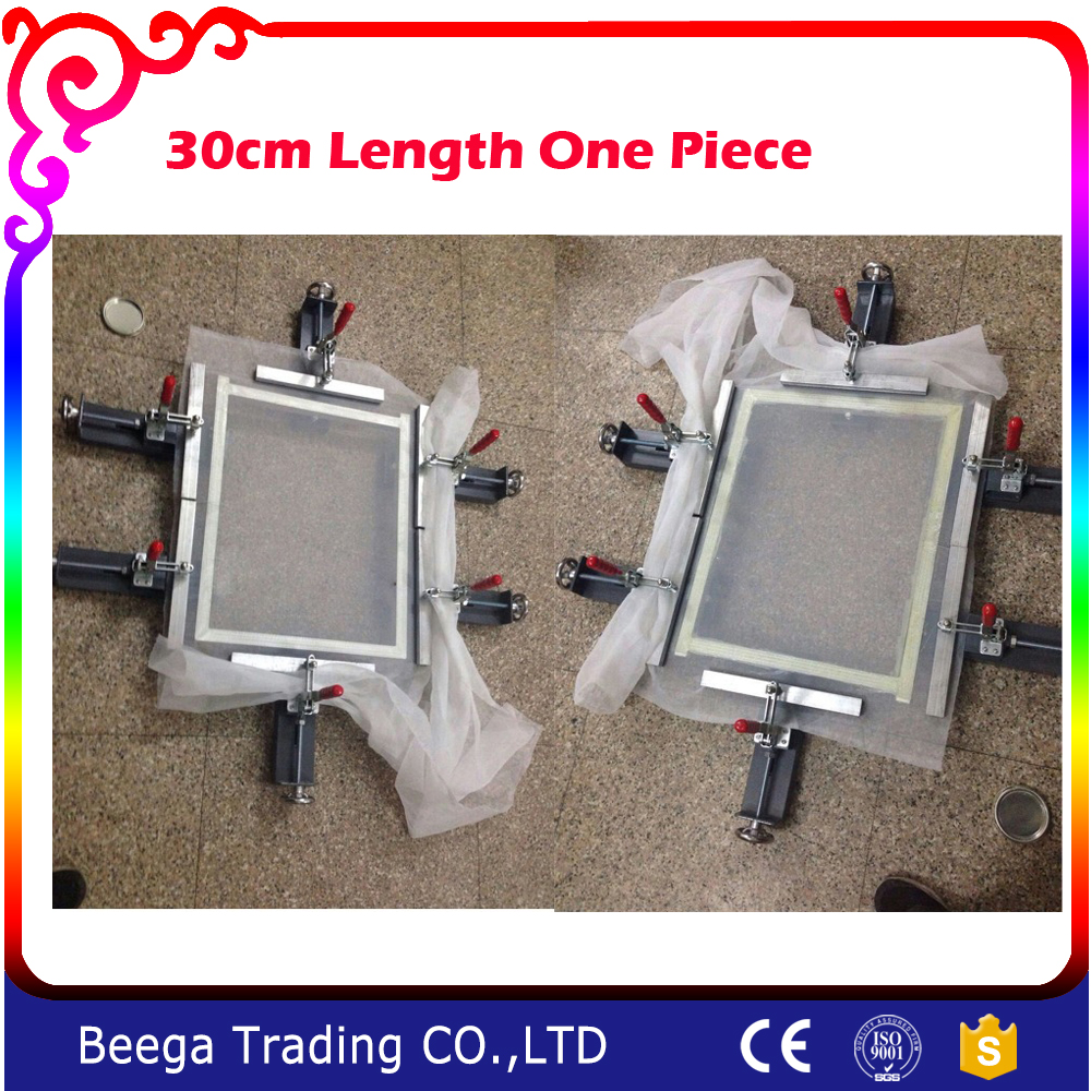 30CM Length One Piece Manual Screen Printing Stretcher New Design Fast and Convenient Manual Splicing Application Combine Any digital design manual