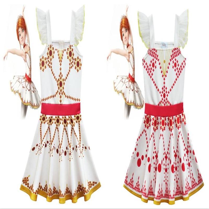 New Girls' Angels Love Ballet Skirt Children's Sleeveless Sling Dress Great Felicity Children's Gift Angel Pack