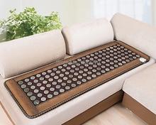 Health care Natual tourmaline and jade mattress/pad/mat Natural jade stone heating cushion 50*150CM