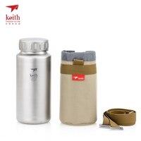 Кейт Титан чайник беспотоковая бутылки с бутылкой мешок для кемпинга Пеший Туризм чайник путешествия большие Ёмкость 1200 мл ti3036